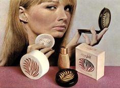CornSilk Face Powder, Tinted Foundation and Pressed Powder, 1965