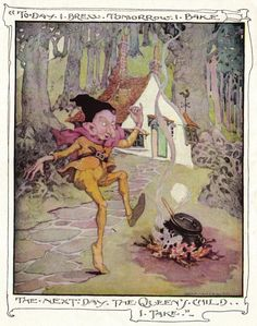 Anne Anderson's Old Old Fairy Tales - Rumplestiltskin 1935