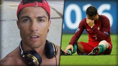 """Oh oh! Der derzeit noch verletzte Europameister Cristiano Ronaldo droht, """"noch stärker"""" zurückkommen zu wollen. Geht das denn überhaupt noch?! Seine Video-Botschaft an seine Fans:"""