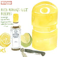 Rita Konig Ice Bucket illustration