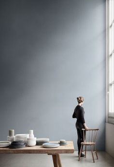 New Norm Dinnerware expresses the purity, simplicity, and honesty so particularly characteristic of the Nordic way. The diversity of colours and materials in New Norm Dinnerware sets the creativity free. Interior Architecture, Interior And Exterior, Pretty Things, Turbulence Deco, Decoration, Interior Styling, Interior Inspiration, Colour Inspiration, Furniture Inspiration