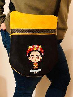 Sac Be-Bop cousu par Oh My Brod' - Broderie Frida - patron Sacôtin