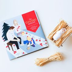 Preorder The Giving Manger - 1 Box Set  The GIVING MANGER is a fun + interactive Christmas tradition that helps families focus on giving and the true meaning of Christmas.