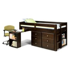 Essentials Twin Mini Loft - Loft Beds at Hayneedle