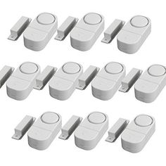 GetTen 10Pcs Wireless Home Door Window Burglar DIY Safety Security ALARM System Magnetic Sensor *** Check this awesome product by going to the link at the image. (Note:Amazon affiliate link)