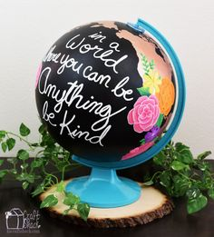 Give Your Old Globe A Super Cool Makeover