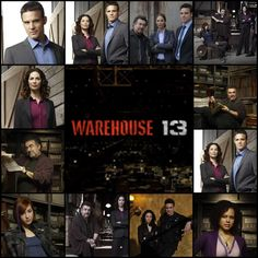 Warehouse 13. I frakking LUV this show!