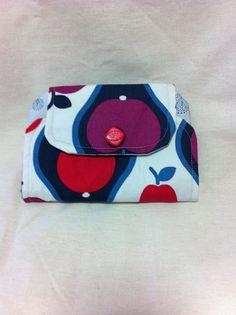 Funky retro pears mini zip clutch by funkyjunkyyeppoon on Etsy