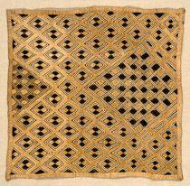 Shoowa Kuba Raffia Cloth Embroideries. African Textiles from the Congo