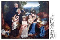 A Generous Education:  John Singleton Copley art cards (2013-14 term 1)