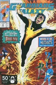 1991 Marvel Comics Guardians of the Galaxy Comics 1991 Marvel Comics Guardians of the Galaxy Marvel Comic Character, Marvel Comic Books, Marvel Characters, Marvel Comics, Galaxy Comics, Phoenix Force, Dark Phoenix, Phoenix Marvel, Thanos Avengers