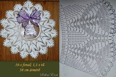 Best 10 Ela Klementowicz's media content and analytics – SkillOfKing. Crochet Tote, Thread Crochet, Crochet Doilies, Christmas Candles, Christmas Presents, Christmas Decorations, Table Runners, Crochet Patterns, Merry
