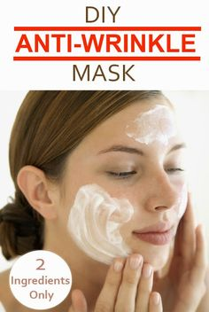 The Best Anti-Wrinkle Mask - 2 Ingredients Only