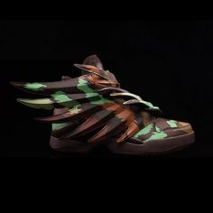 Camo covers the latest Wings 3.0 offering from Jeremy Scott and adidas. See  more on 6e0f62eb4