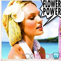 "#CandiceSwanepoel Is ANGELic PreTTTy @ ""Summer Lovin"" FLOWER GIRL #Selfie - GODDESS ALERT ((O.O))"