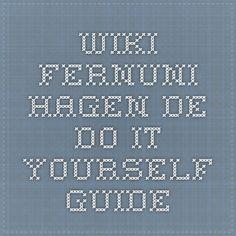 wiki.fernuni-hagen.de - Do-it-yourself guide