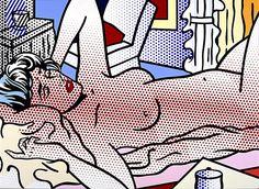 Nude, Reclining (1994) by Roy Lichtenstein