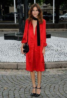 Street style: Skinny šal - Moda.hr