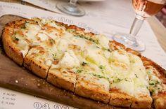 Grilled Cheese Bruschetta