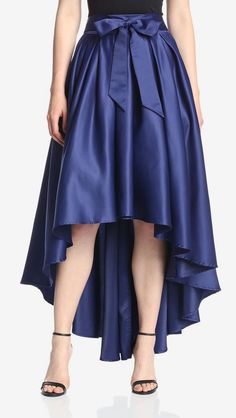 Gracia Women's High Low Maxi Skirt