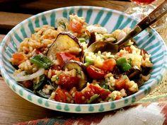 Rezept: Gebackener Gemüsereis