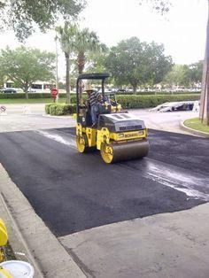 Florida paving job