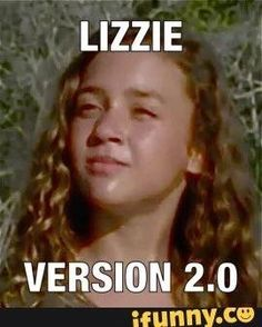 I actually think she's worse than Lizzie. Lizzie innocently thought killing things would turn them to Walkers and they'd be her friend forever. The little psycho picture WANTS to killl.