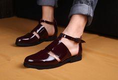 0c32eab64 Mens cool sandals summer closed toe cutout italian sandals shoes 2018  gladiator fashion runway beach sandals shoes