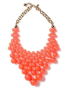 Kate Spade Dotz Bib Necklace Bib necklace