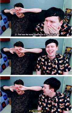 GIF SET: THE MOST FRUSTRATING GAME EVER MADE - Dan and Phil play: I Am Bread