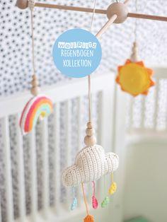 Crochet Baby Sweater Pattern, Baby Sweater Patterns, Crochet Patterns Amigurumi, Crochet Toys, Crochet Baby Mobiles, Crochet Mobile, Baby Pullover Muster, Crochet Humor, Crochet Home Decor
