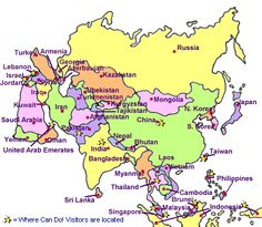 71 Best maps/Asia/Pacific Region images | Asia travel, Travel cards ...