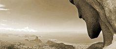 Cristo Redentor - Rio de Janeiro in sepia