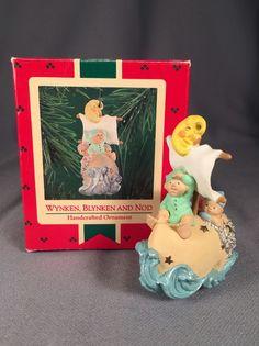 Hallmark Keepsake Ornament- 1986 Wynken, Blynken And Nod | Collectibles, Decorative Collectibles, Decorative Collectible Brands | eBay!
