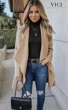 guide and tips for wearing fall outfits Casual Work Outfits, Business Casual Outfits, Work Attire, Classy Outfits, Trendy Outfits, Cute Outfits, Fashion Outfits, Professional Outfits, Fall Winter Outfits