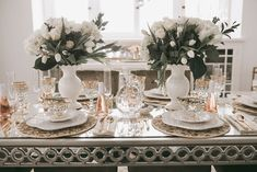 Spring Entertaining with MacKenzie-Childs - CHAMPAGNE + MACAROONS