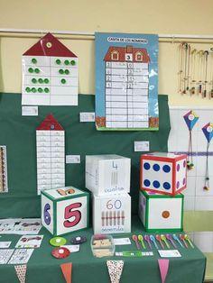 Preschool Games, Toddler Preschool, Math Games, Math Activities, Maths, Classroom Projects, School Classroom, Projects For Kids, Math Wall