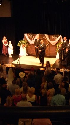 Wedding in the Courtroom Theater