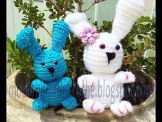 Faça você mesmo AMIGURUMI #2 Coelho da Páscoa em crochê - YouTube