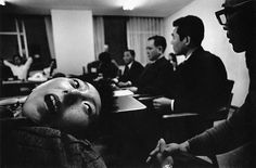 Eugene Smith - Tomoko Uemura at Central Pollution Board Meeting (Minamata patients at the Envionmental Disputes Coordination Commission) Classic Photography, War Photography, Equatorial Africa, Eugene Smith, Pittsburgh City, Photographer Portfolio, Social Awareness, American Country, Magnum Photos