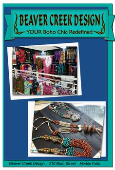 Beaver Creek Design – Your Boho Chic Redefined!   wearemarblefalls.com