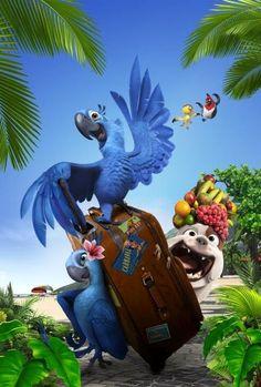 Rio poster, t-shirt, mouse pad Cartoon Cartoon, Animated Cartoon Characters, Cute Disney Pictures, Disney Images, Disney Art, Parrot Wallpaper, Cartoon Wallpaper, Disney Pixar Movies, Disney Cartoons