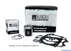 Namura NX-70022-BK Top-End Rebuild Kit for 1998-02 KTM 200 SX - 63.95mm