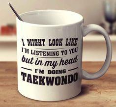 I Might Look Like I'm Listening To You, But In My Head I'm Doing Taekw Mug- I wish they had one of these for karate. Cellos, Fishing Quotes, Fishing Humor, Fly Fishing, Fishing Stuff, Fishing Tips, Sup Girl, Cello Music, Sewing Quotes