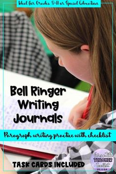 Time-saving bell ringer writing prompts for ESL/ELA students; middle school or high school. Use them as paragraph writing prompts or longer written productions. Paragraph Writing, Writing Prompts, Writing Rubrics, Opinion Writing, Persuasive Writing, Writing Resources, Writing Activities, 3rd Grade Writing, Writing Practice