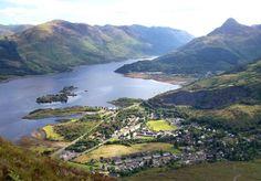 Ballachulish Glen Coe, Scotland