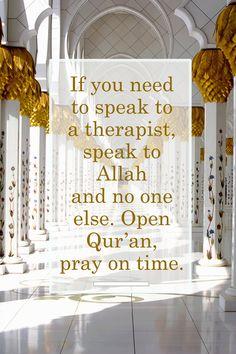 Speak to Allah