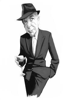 Leonard Cohen #leonardcohen #fernandovicente