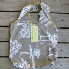 Upcycled / Zero Waste / Reusable Shopping Bag / Reusable Grocery Bag / Reusable Bag / Tote Bag/ Farmers Market Bag/ White Trees by HASOMbags on Etsy https://www.etsy.com/listing/517235736/upcycled-zero-waste-reusable-shopping