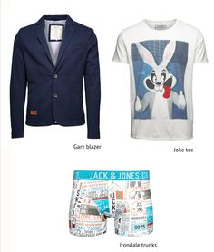 PUT on some FUN stuff!  #fun #tshirt #tee #joke #blazer #outfit #men #boy #trend #style #fashion